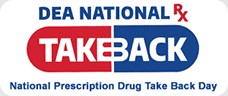 national Prescription Drug Take Back Day. Turn in your unused or expired medication for safe disposal Oct. 28, 2017